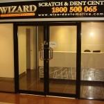 Aluminium Window Painting - Dent Wizard