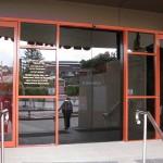 East Eagles Club - Aluminium Door Painting