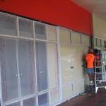 aluminium window painting